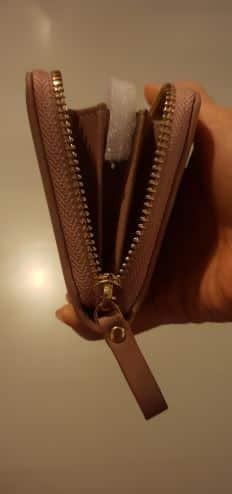 portefeuille compagnon femme cuir brun