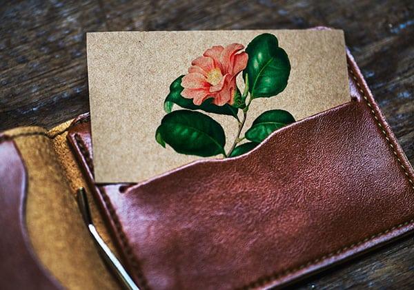 cadeau d'un portefeuille