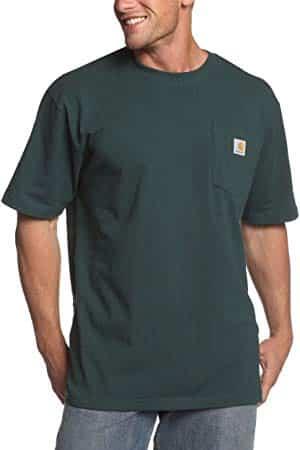 Carhartt Hommes K87 Workwear Pocket T-Shirt à manches courtes (tailles régulière et grande et haute)