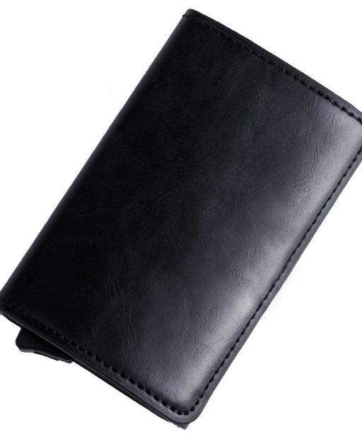 Porte Carte Visite Cuir Noir Pour Homme