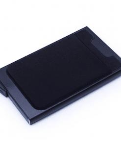 Porte Carte Tissu Noir Pour Femme Original
