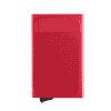 Porte Carte Tissu Rouge Pour Femme Original