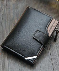portefeuille homme cuir noir